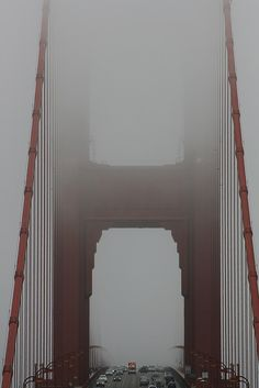 golden gate bridge  -- this was what it looked like the first time I saw it