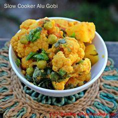 Slow Cooker Alu Gobi