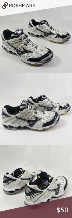 mizuno womens volleyball shoes size 8 x 3 inch queen grey