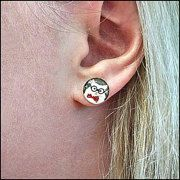 Earrings Plugs Rings more by 8BitBoom on Etsy