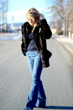 Windy Bell Bottoms, Bell Bottom Jeans, Pants, Outfits, Fashion, Trouser Pants, Outfit, Moda, La Mode