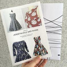 Mønster: Jerseykjole med sving, str. XS-XL