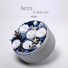 Box series-preserved fresh flower; fresh flora preservation; fresh flower—S&P FLOWER
