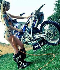 Sorry, Nude females on dirtbikes
