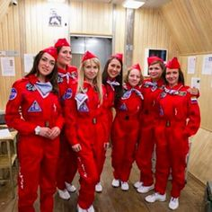 """Russia's first all-female team of scientists, who, when asked by a reporter how they'd """"cope"""" not being with men in space, answered: """"We are here to do our job. We don't have time to think about men."""" 