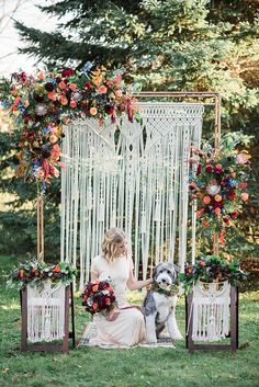 The exuberant juiciness of this jewel toned bohemian wedding inspiration is just too tantalizing. Each detail unveils a new level of color crushing detail. Western Wedding Dresses, Bohemian Wedding Dresses, Sexy Wedding Dresses, Boho Wedding, Wedding Ideas, Trendy Wedding, Bohemia Wedding, Boho Dress, Wedding Reception