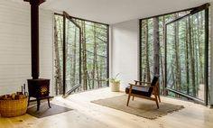 treehouse cabin interior