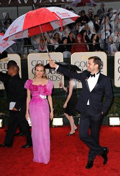 "Buzzfeed: ""Joshua Jackson And Diane Kruger Are The Cutest Couple In Hollywood And That's A Fact"" ... I'll go with the best dressed pair for now. Also, Joshua Jackson is clearly the best boyfriend/umbrella holder."