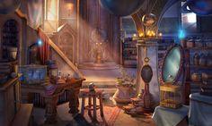 Fantasy Kitchen Concept Art