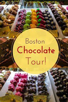 Boston Chocolate Tour.