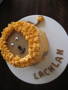 smash cake? lion cake