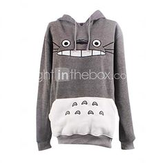 Inspiré par Mon voisin Totoro Chat Anime Costumes Cosplay Hoodies Cosplay…