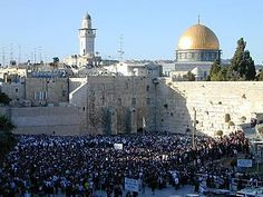 The Wailing Wall- proof that it is possible for people of different faiths to co-exist