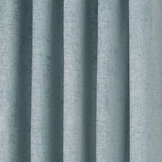 Duck Egg Chenille Lined Pencil Pleat Curtains | Dunelm
