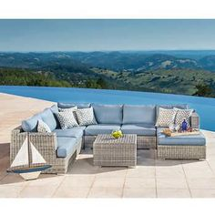 Costco 3000 Lago Brisa 6 Piece Deep Seating Set Lanai