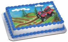 4 Wheeler Cake | ATV 2 Cake Decorating Kit Four Wheeler Topper Sports | eBay
