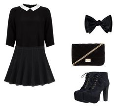 Designer Clothes, Shoes & Bags for Women Concert Outfits, Speed Limit, Lipsy, Black Tie, Forever 21, Shoe Bag, Polyvore, Shopping, Collection