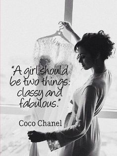 One of Coco Chanel quote-so inspiring! #cocochanel #quotes #inspiration www.wedetiquette.com Wedding Planning & Event Management