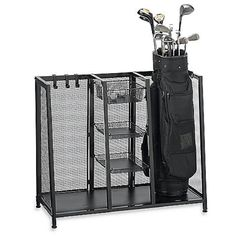 Beau Made From Corrosion Resistant Metal These Two Bag Golf Organizers By Pro  Golf Racks Feature Roomy