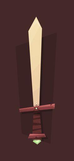 How to create a cartoon-like elemental sword in Adobe Illustrator - tutorial from Tuts+ Design & Illustration