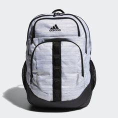 Even the busiest days can't knock you off your game with this adidas Prime V backpack in tow. Cute Backpacks, School Backpacks, Storing Water Bottles, Cheap School Bags, Adidas Backpack, North Face Backpack, Laptop Sleeves, Sport Outfits, 5 D