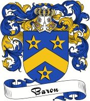 Baron Coat of Arms  Baron Family Crest   VIEW OUR FRENCH COAT OF ARMS / FRENCH FAMILY CREST PRODUCTS HERE