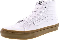eddf117fb9c Vans SK8 Hi Slim Light Gum True White Womens Classic Skate Shoes Size Women  9.0
