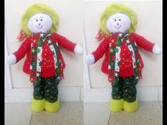 Como hacer Un Muñeco De nieve Parado - YouTube Dory, Elf, Seasons, Christmas Ornaments, Holiday Decor, Home Decor, Videos, Youtube, Baby Dolls