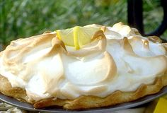 This is now my go-to Lemon Meringue pie. It's Paula Deans recipe, so it has to be good. IT IS GOOD! LOVE IT! The only difference I made was I did 2 extra egg whites in the meringue. I like very high meringue on my pies. Perfect.