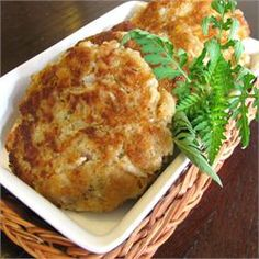 Easy Tuna Patties - Allrecipes.com  I absolutly love making these, they are easily and simple to make,bit taste great