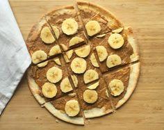 Peanut Butter Banana Breakfast Pizza   Udi's® Gluten Free Bread