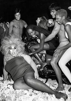 Now that's a Studio 54 party.