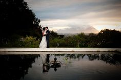 Photo by: Lauren Kriedemann Magnificent view of Table Mountain from Langverwagt Wedding Venue near Cape Town, South Africa