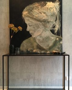 """Check out our website for additional details on """"abstract art paintings acrylics"""". It is actually an exceptional location to learn more. Abstract Portrait, Portrait Art, Abstract Art, Gold Leaf Art, Salon Art, Figure Painting, Figurative Art, Art Oil, Painting Inspiration"""