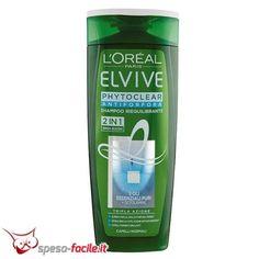 ELVIVE SHAMPOO 2IN1 PHYTOCLEAR 250ML L'OREAL paris phytoclear 2in1 shampoo antiforfora riequilibrante per capelli normali  Vedi tutti i Prodotti Elvive L'Oreal Paris  ...
