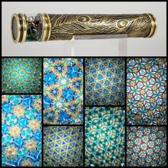 Married Metals by Sandra - Handmade Custom Kaleidoscopes & other shiny things! Kaleidoscopes, Metals, Peacock, Projects To Try, My Favorite Things, Handmade, Hand Made, Peafowl, Metal
