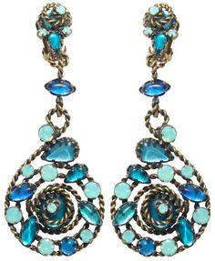 LOVING these twisted lady KONPLOTT earrings at BB1 Classic www.konplott.com