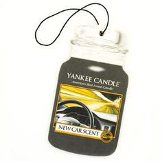 New Car Scent Car Jar by Yankee Candle
