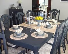 Loving Life: Craigslist Dining Room Table and Chairs Makeover