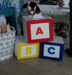 Diapers and wipes blocks