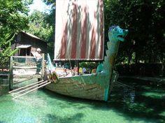 Happy Hollow Park & Zoo - Viking Ship