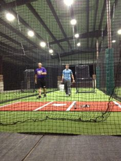Mary Hardin Batting Cages with Kodiak Sports Turf and Nets #battingcages #baseball #artificialturf #netting #homerun
