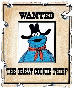 cookie monster!!! Could be a fun scavenger hunt theme...