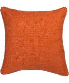 Heart of House Hudson Textured Cushion - Russet.