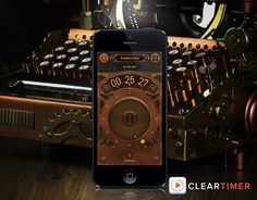 Steampunk Timer themes for the phone. I think that the smart phone can be the best steampunk accessory because it really is a gadget that we use all the time, it just needs a little dressing up to look the part.
