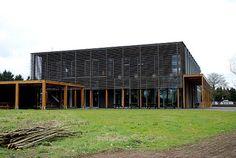 Bourgoyen-Ossemeersen - Het bezoekerscentrum - nabij Gent - Wikipedia