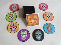 Porta Copos CAVEIRAS MEXICANAS