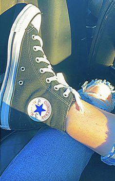 Converse All Star, Converse Chuck Taylor High, Converse High, High Top Sneakers, Applis Photo, Chuck Taylors High Top, High Tops, Vans, Shoes
