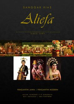 Some project for authentic traditional  indonesian java wedding organizer..