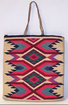 82: NEZ PERCE CORN HUSK BAG